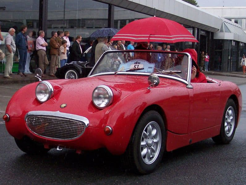 Naming our cars: Austin Healey Sprite MK1