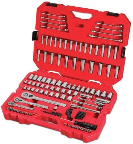 CRAFTSMAN Mechanics Tool Set, SAE / Metric, 135-Piece