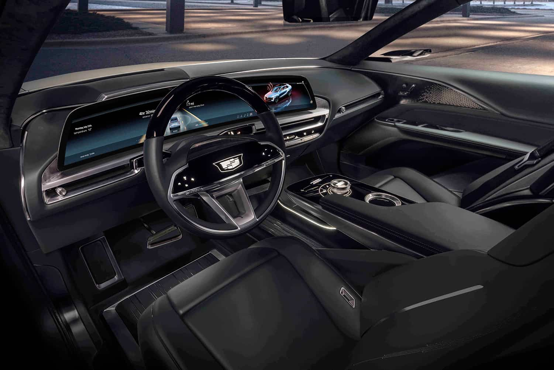 Cadillac LYRIQ interior
