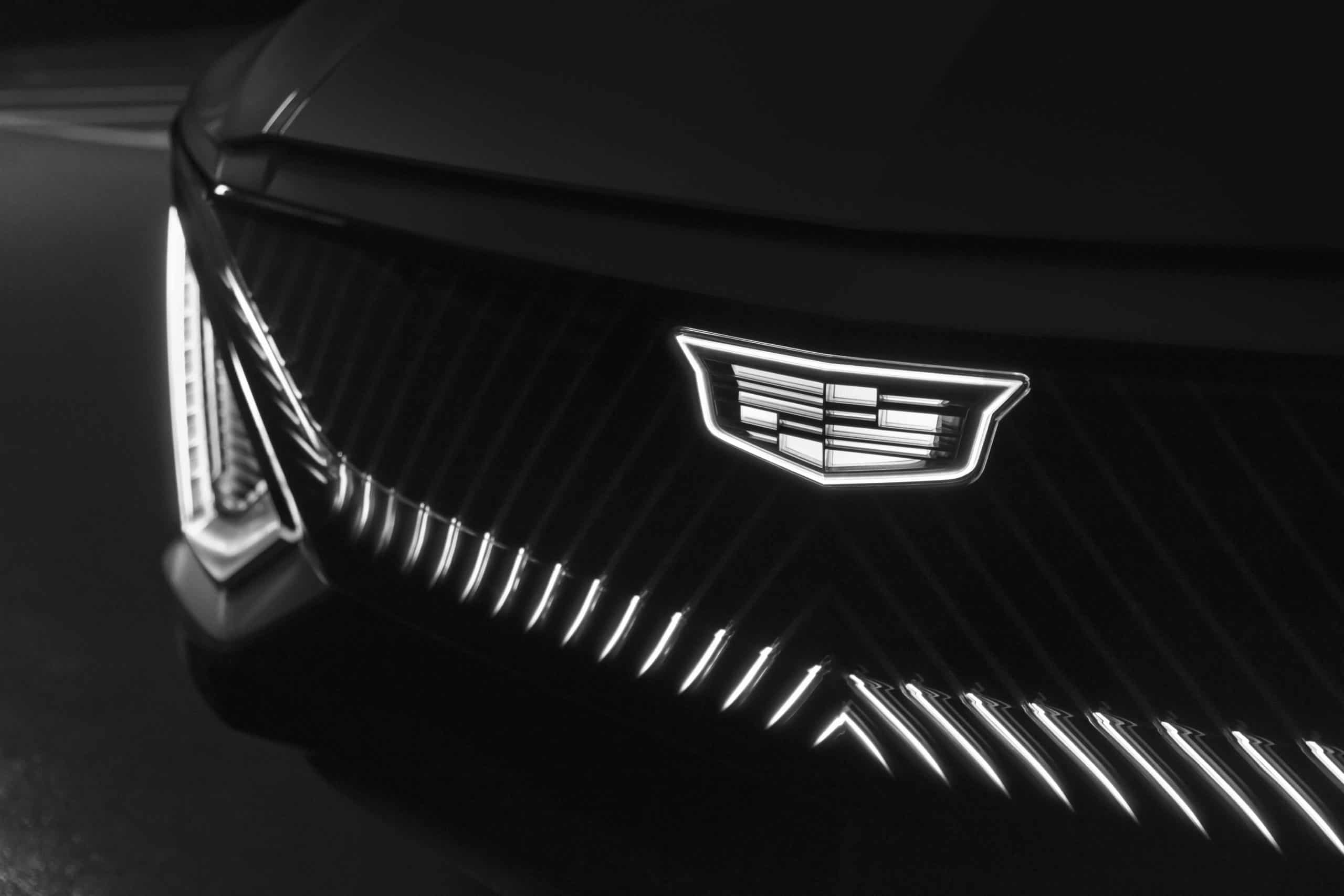 Cadillac LYRIQ grille lights