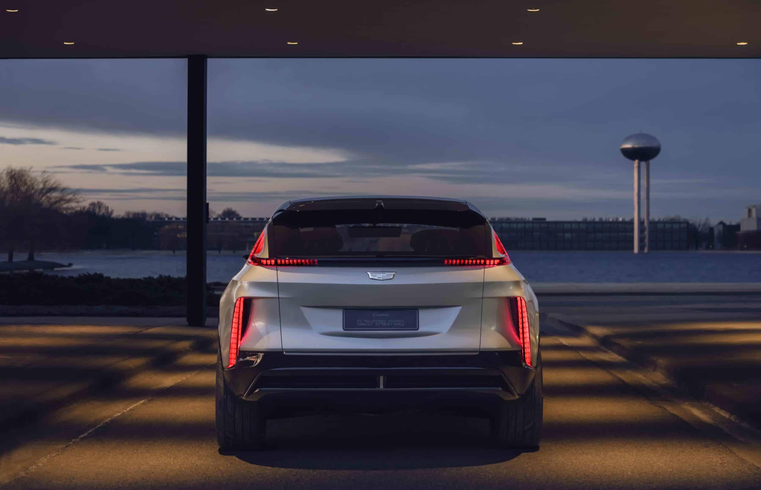 Cadillac LYRIQ rear
