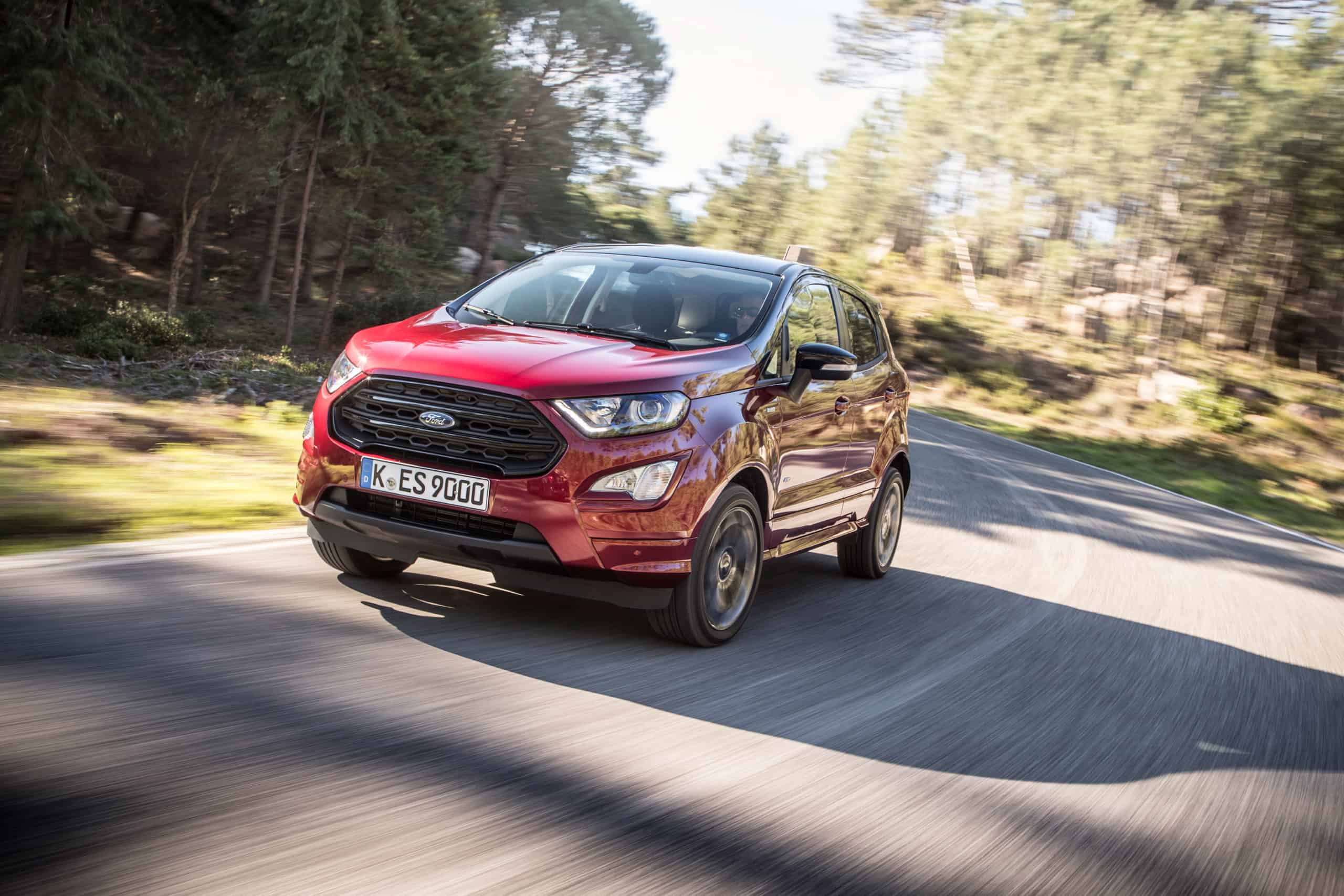 Ford EcoSport S cheapest new suv 2020