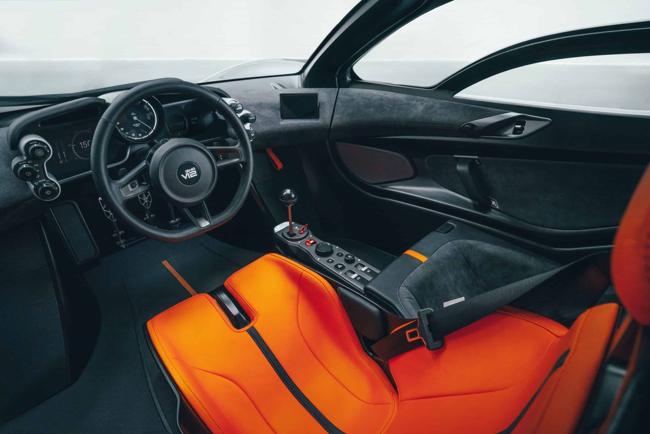 Gordon Murry Automotive T.50 supercar dash