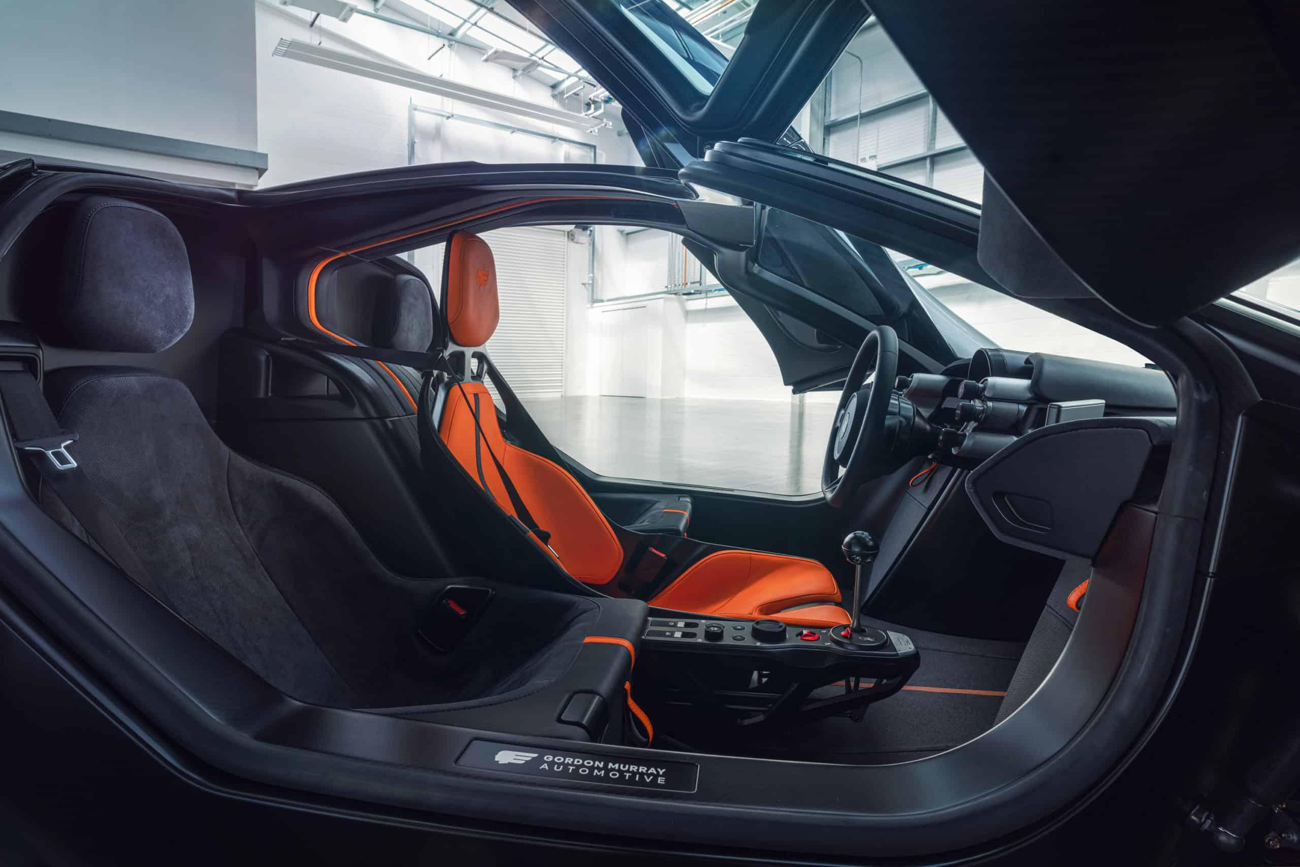 Gordon Murry Automotive T.50 supercar interior