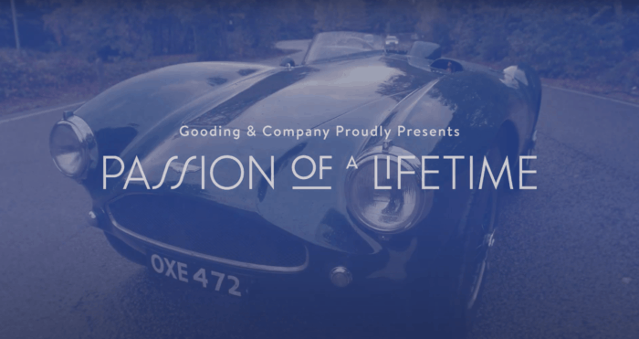 gooding & company passion of a lifetime auction