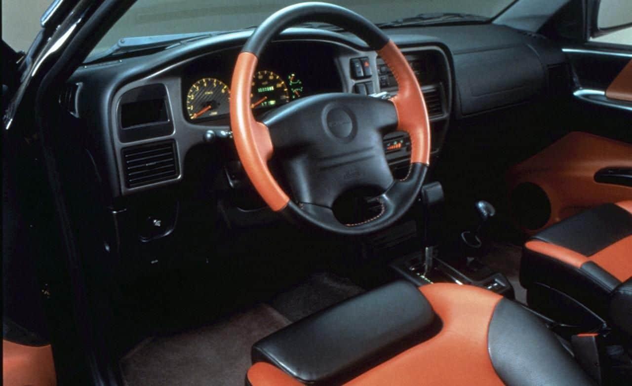 Isuzu VehiCROSS interior
