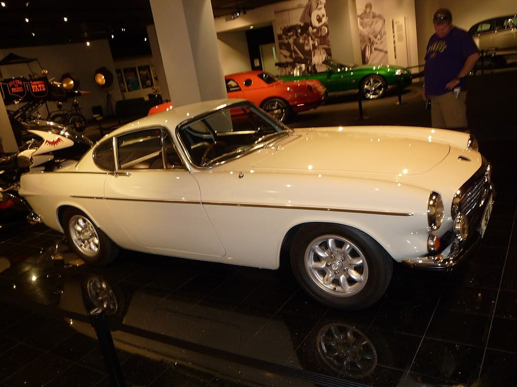 Volvo P1800 from The Saint TV show