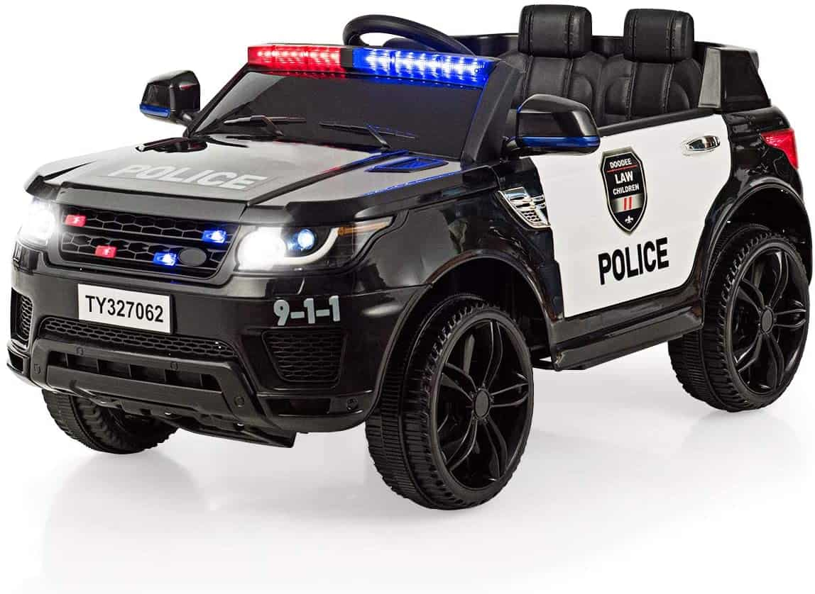 Kids Electric Police Ride On Car