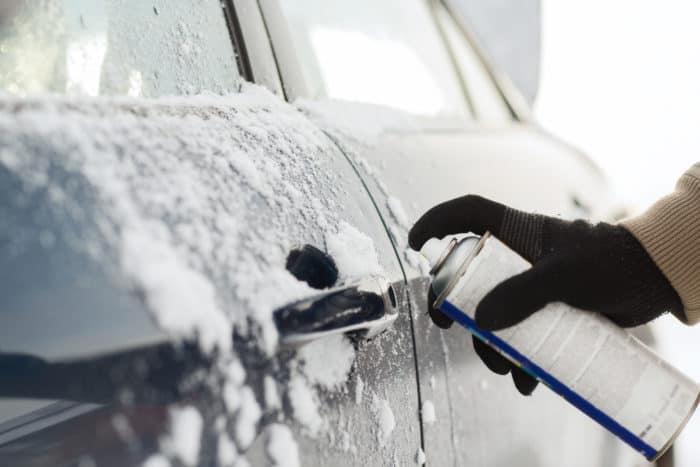 unfreeze car door