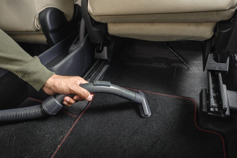 how to clean car carpet vacuum your car