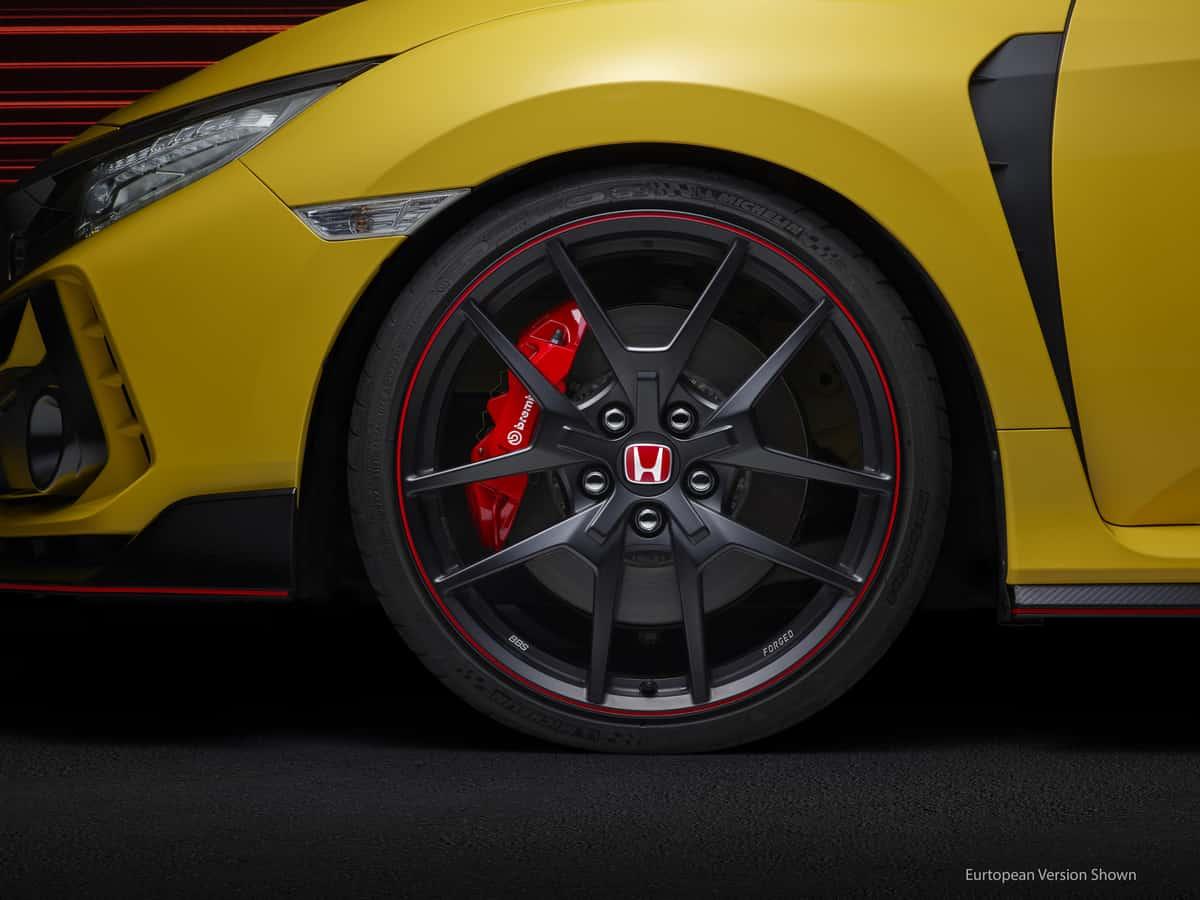2021 Honda Civic Type R Limited Edition BBS wheels