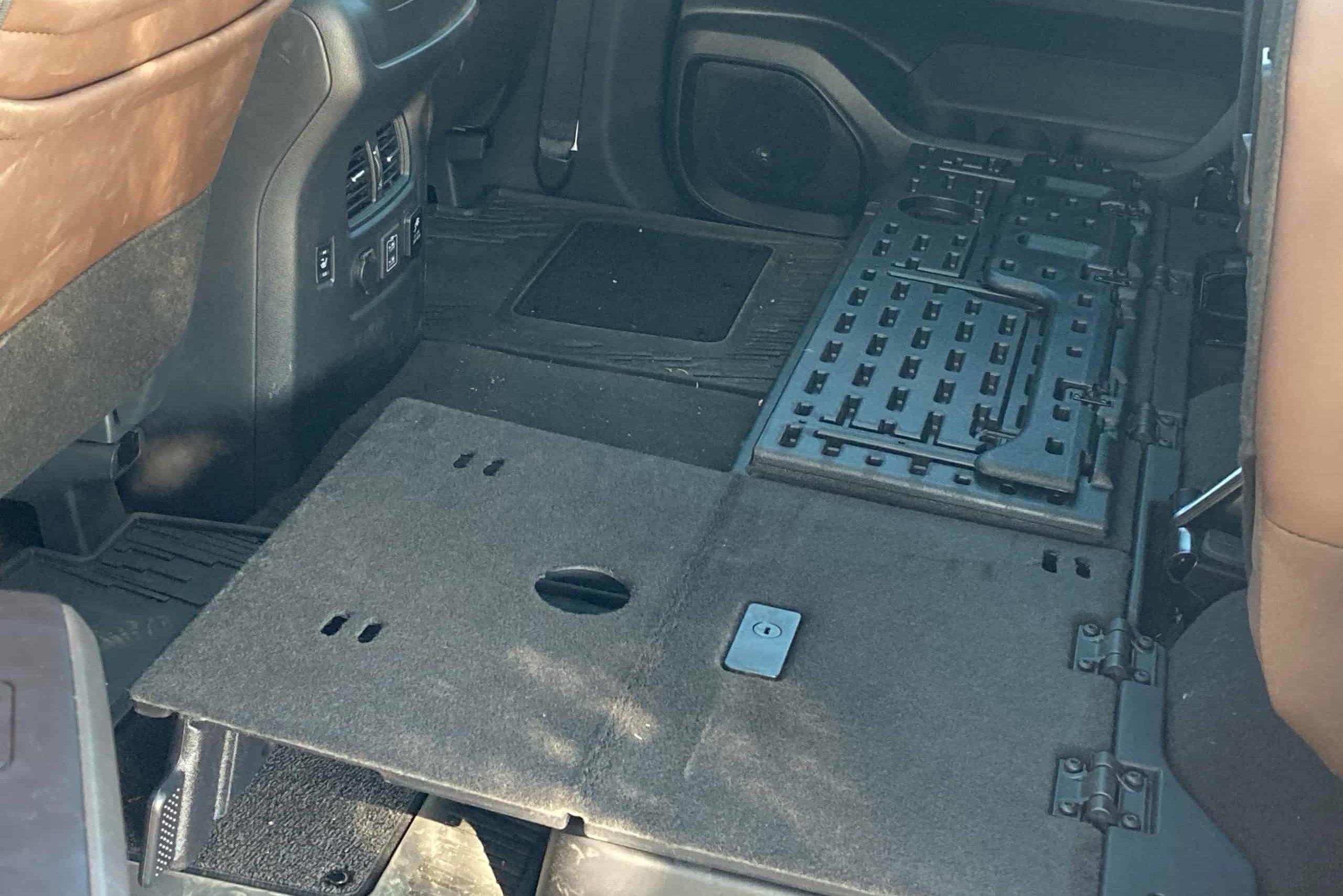 Nissan Titan XD interior cargo space