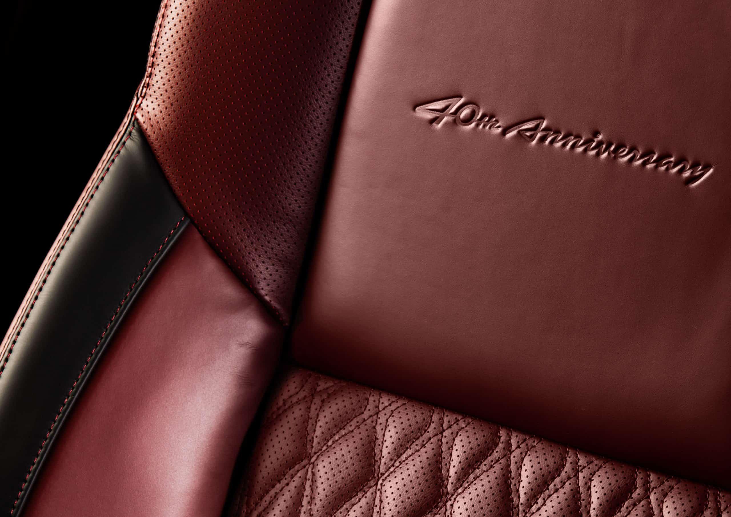 Nissan Maxima 40th Anniversary Edition seat