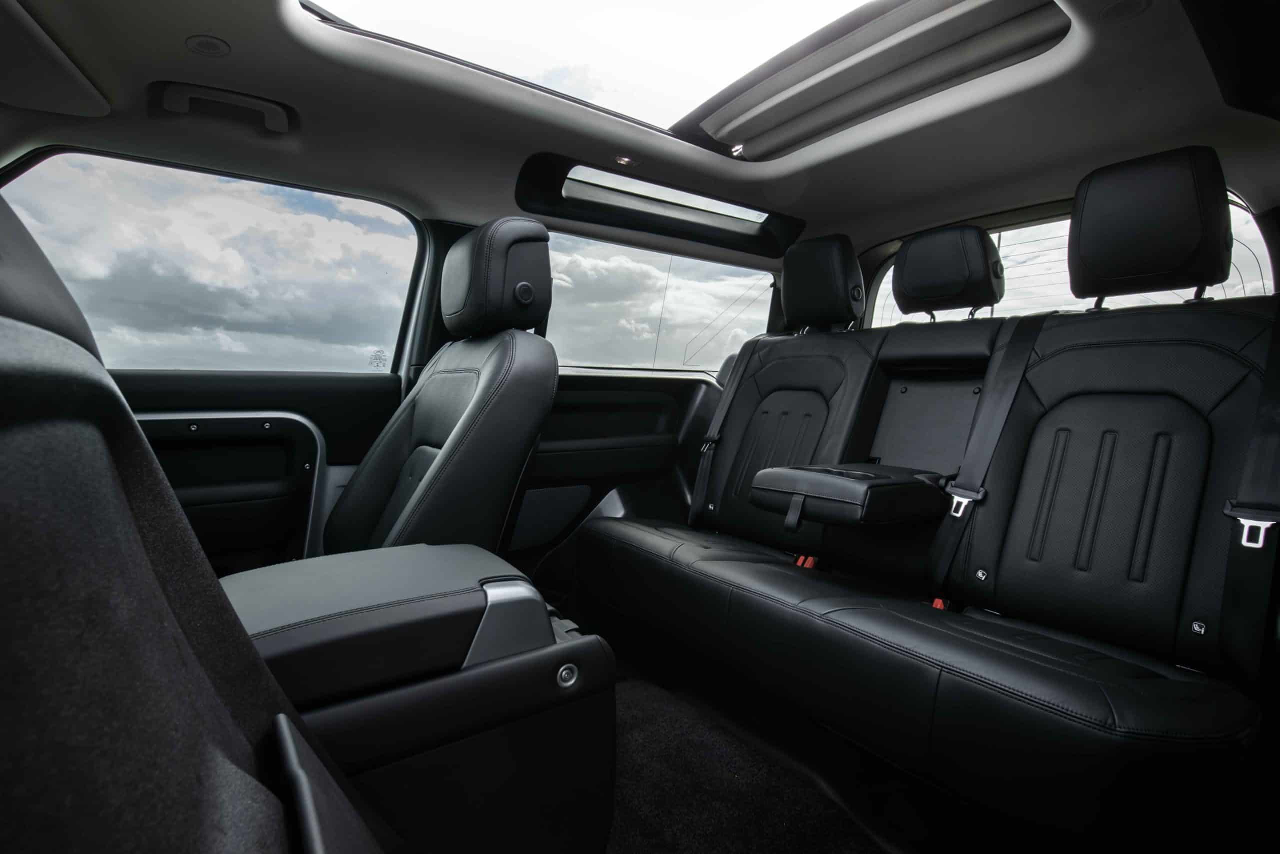 D90 back seat