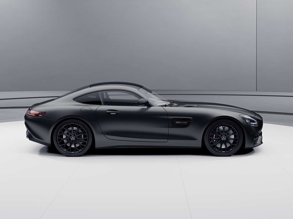2021 Mercedes-AMG GT Stealth Edition roadster profile