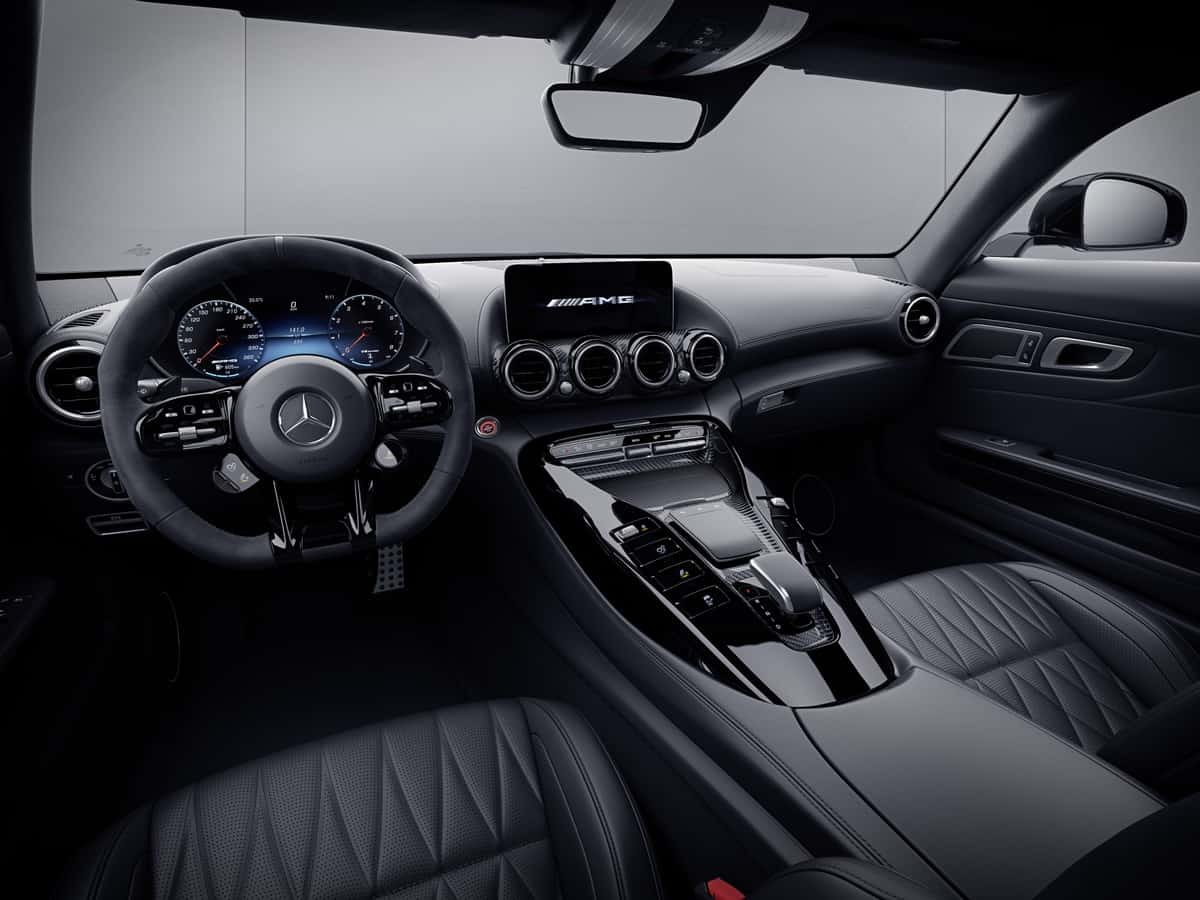 2021 Mercedes-AMG GT Stealth Edition Coupe Interior