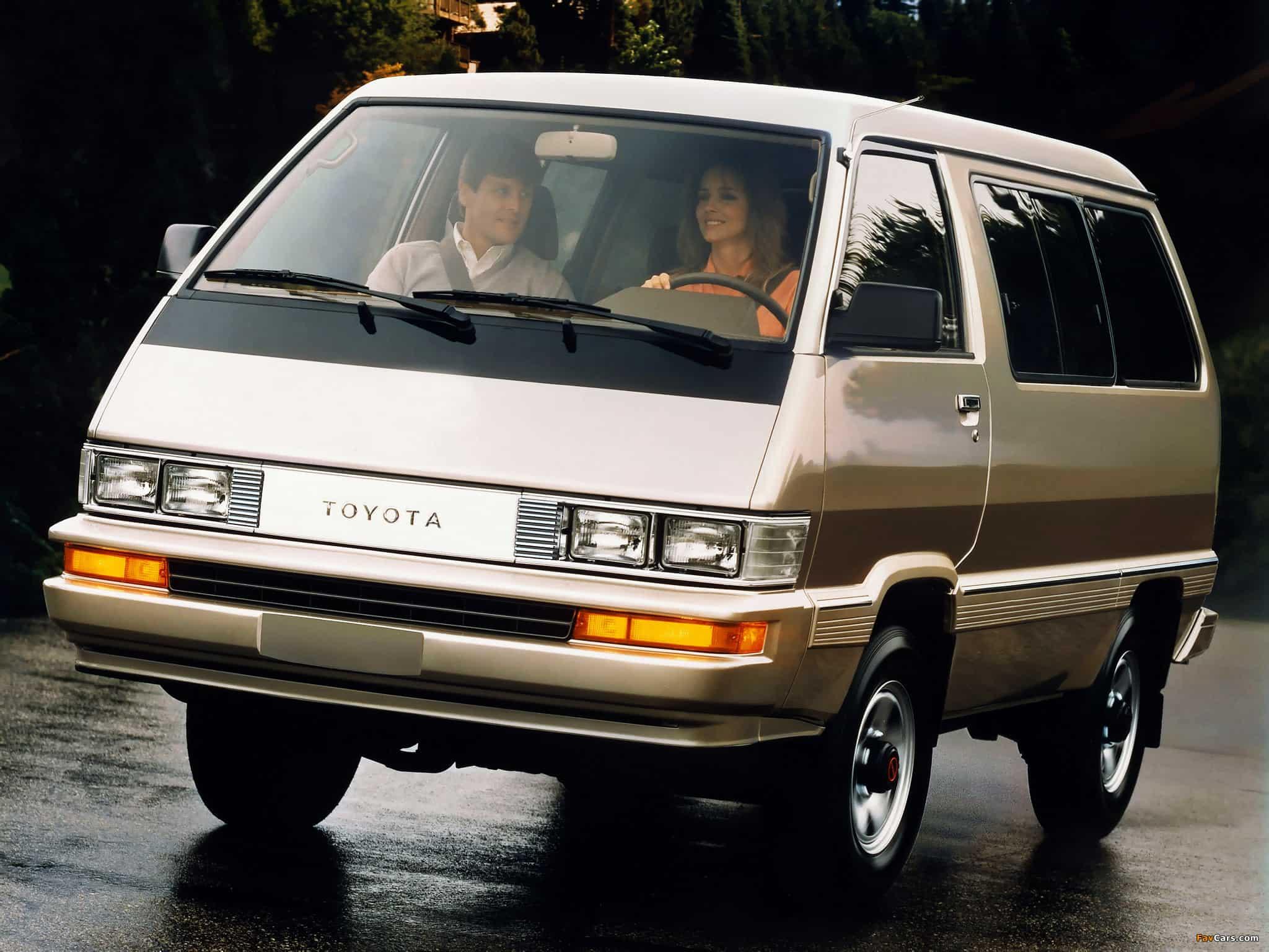 1988 Toyota 4WD Van