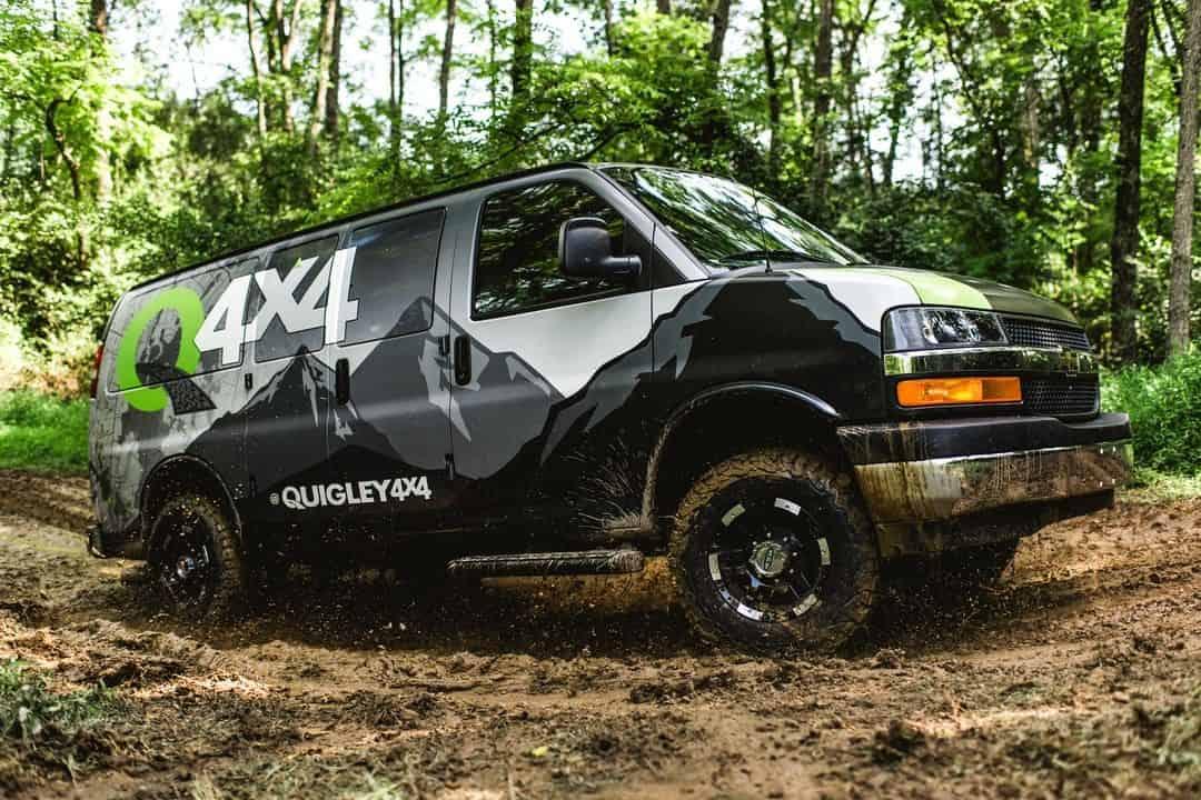 Quigley 4x4 GM Van