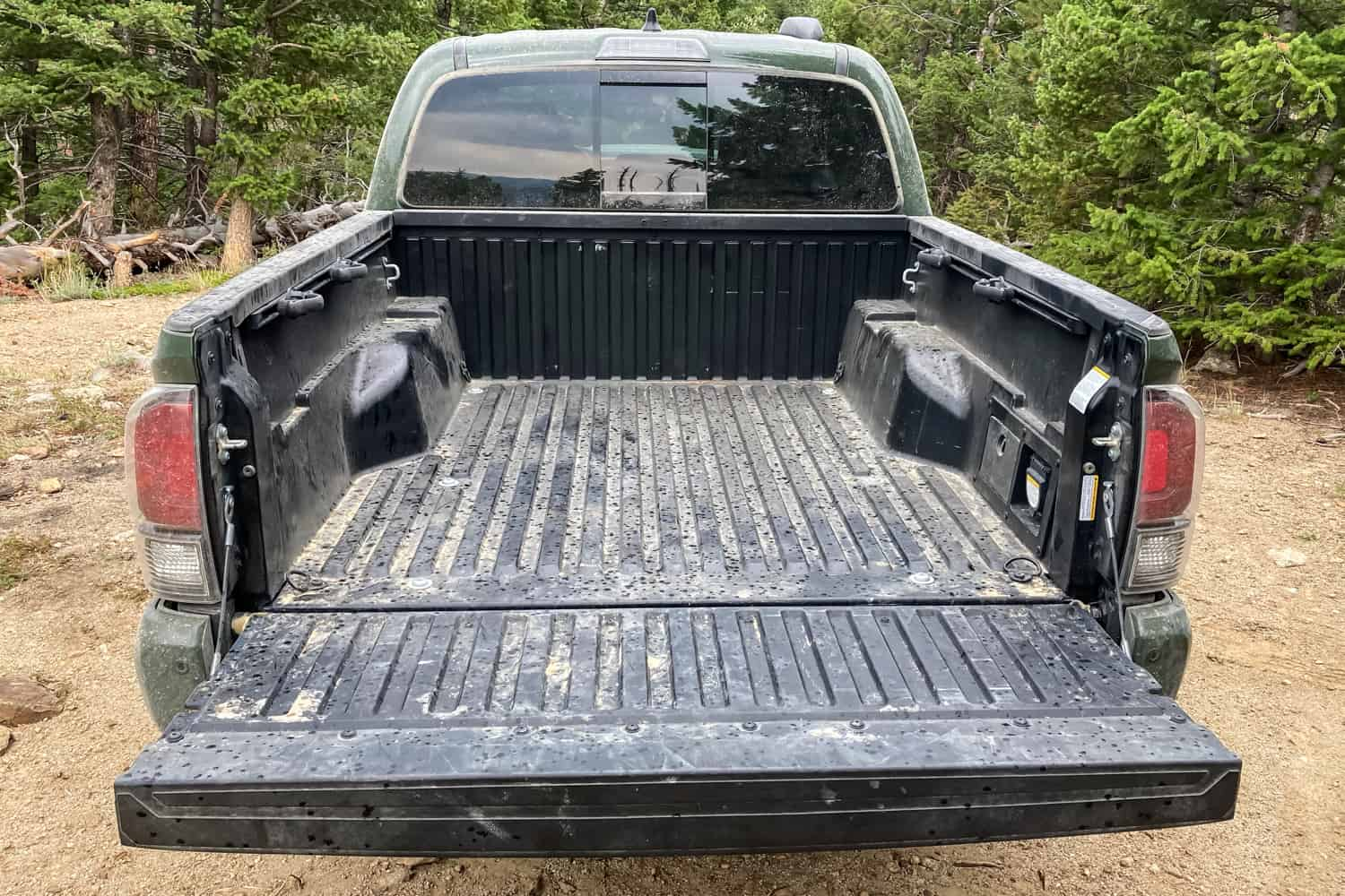 2020 Toyota Tacoma TRD Pro truck bed