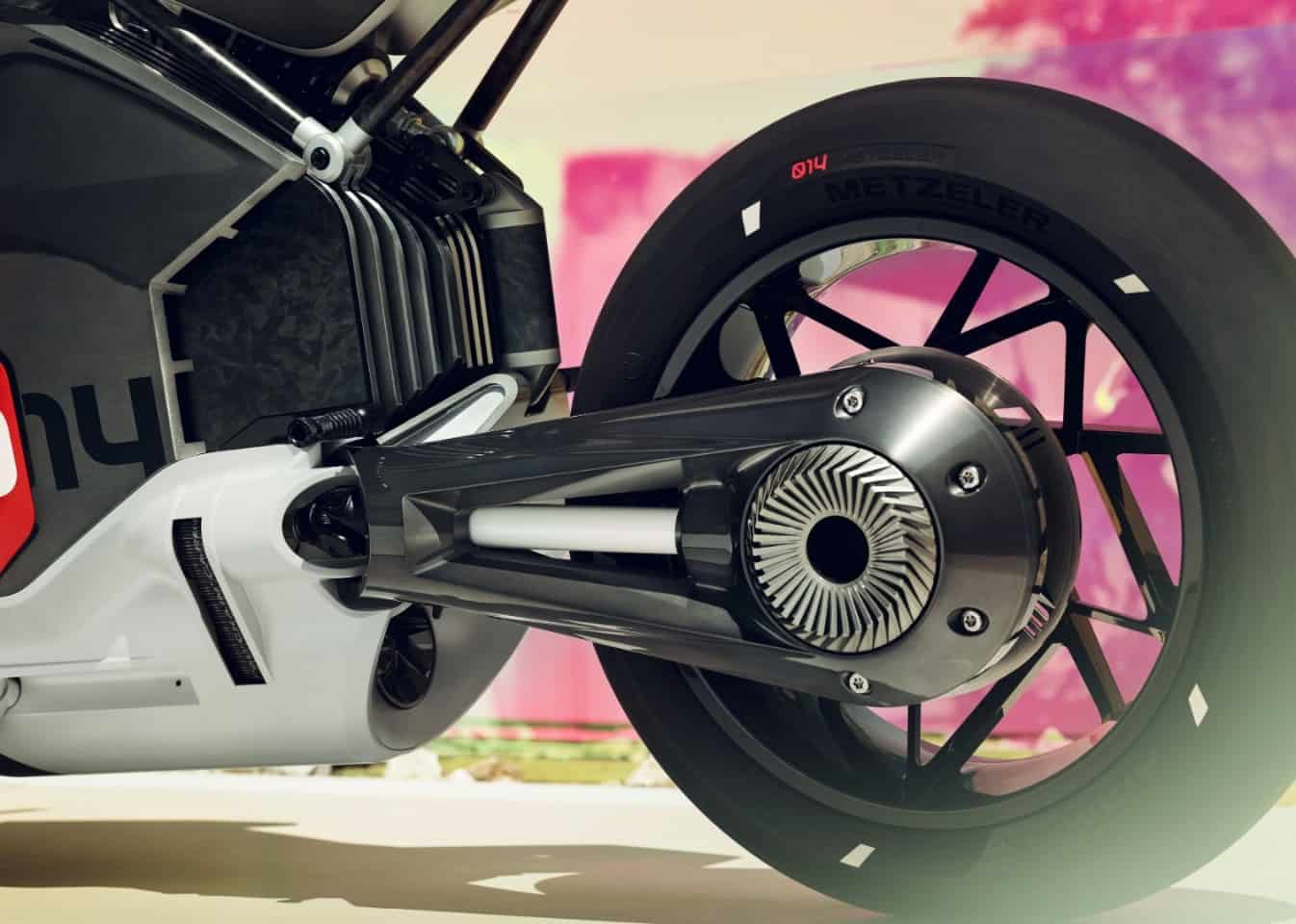 BMW Electric Motorcycle Concept Rear Wheel