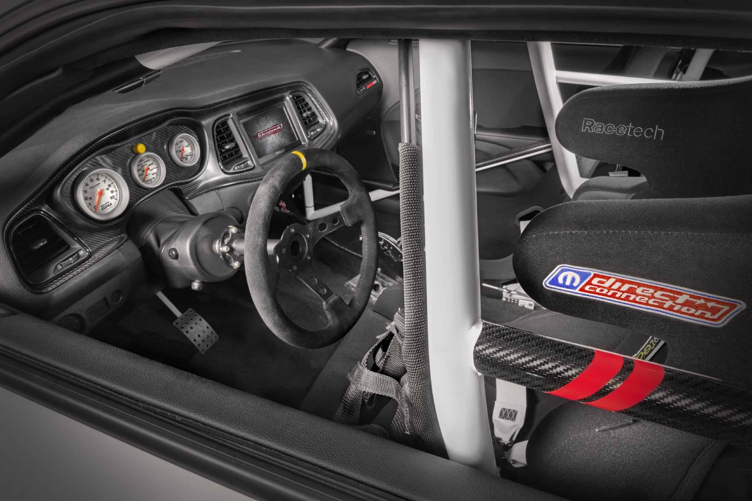 Dodge Challenger Mopar Drag Pak Interior