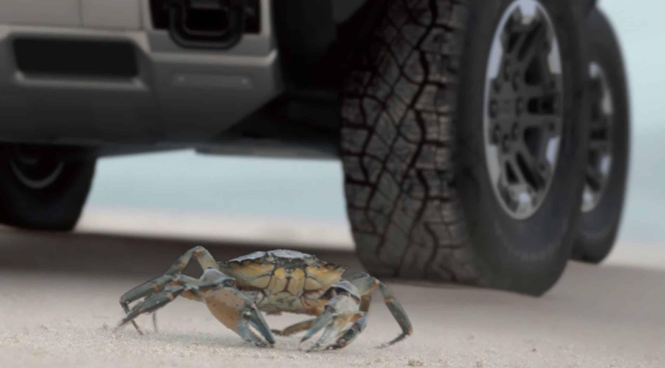 2021 Hummer EV Truck Crabwalk