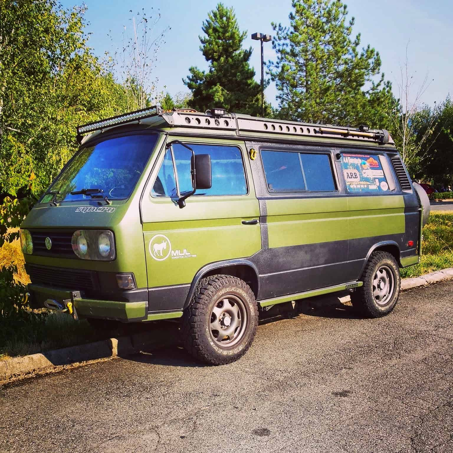 Mule Expedition Outfitters Volkswagen Vanagon Syncro