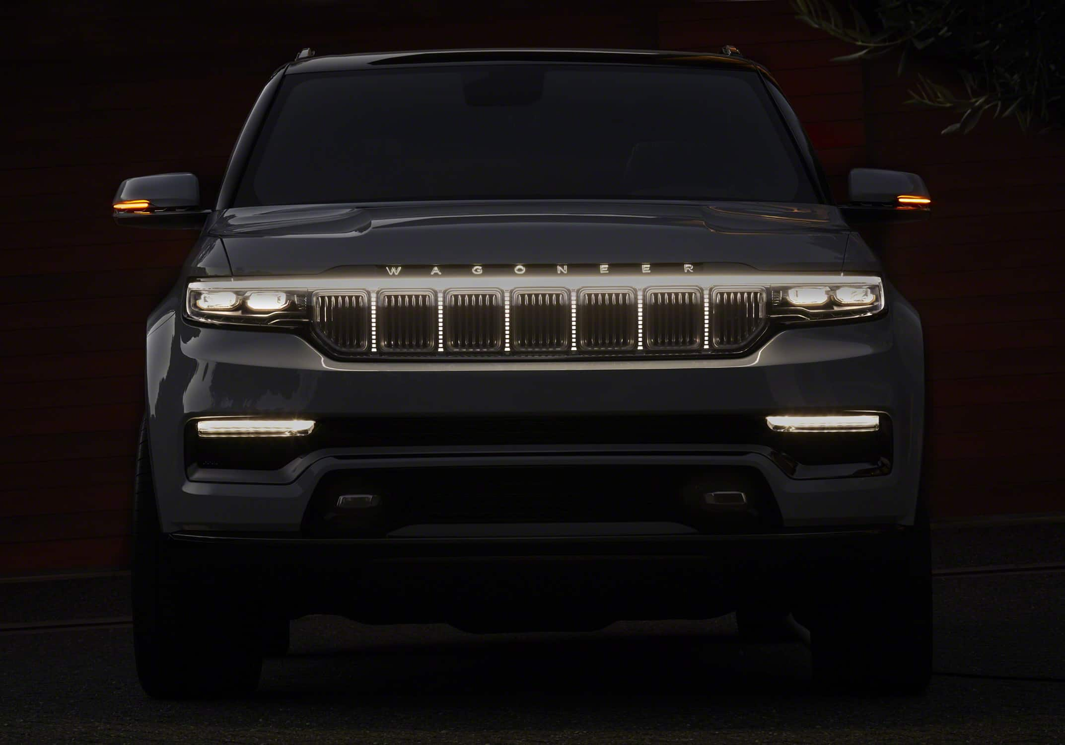 Jeep Grand Wagoneer concept LED grille