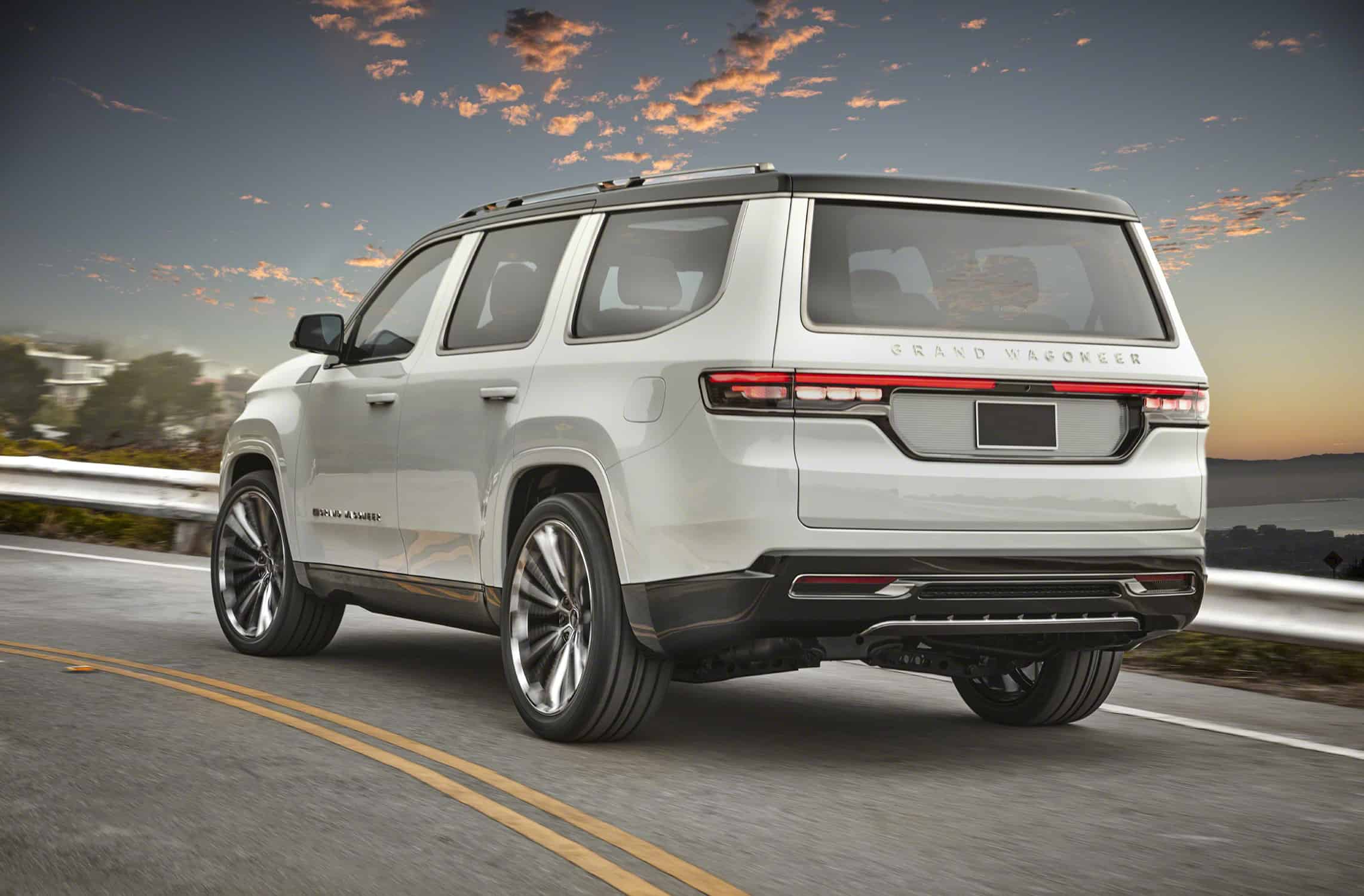 Jeep Grand Wagoneer concept rear