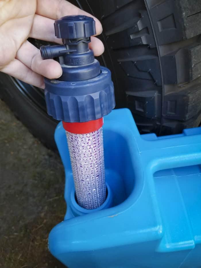 LifeSaver water filter and spigot
