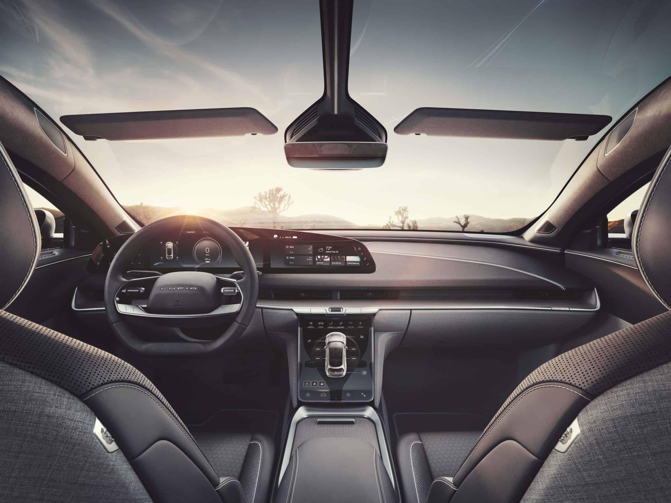 Lucid Motors Air Interior