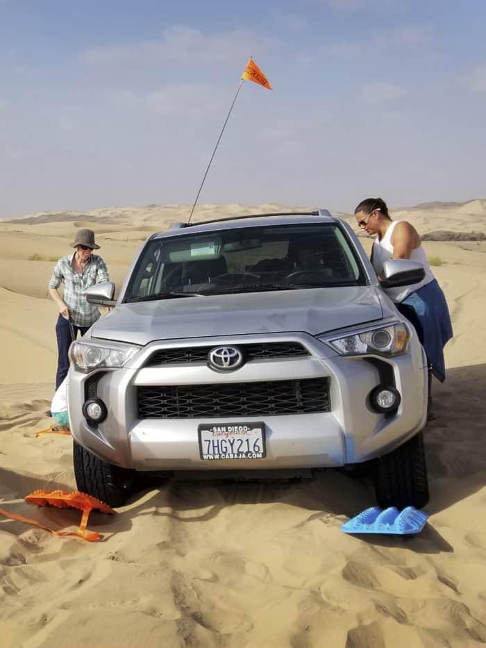 MAXTRAX in dunes