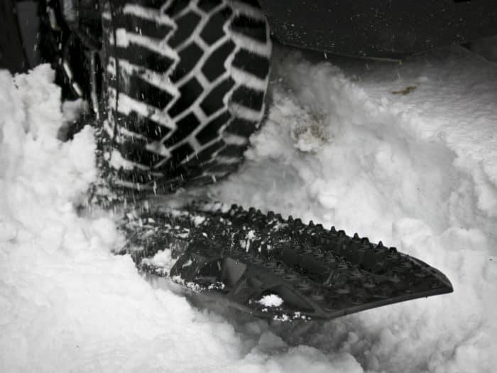MAXTRAX in snow