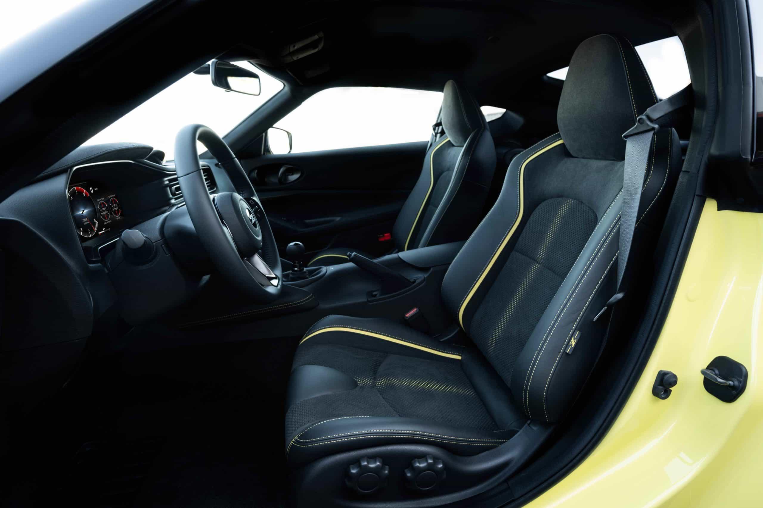 Nissan Z Proto interior