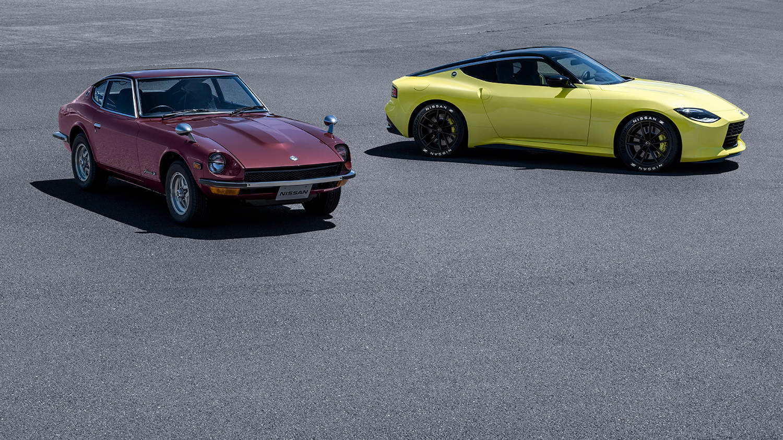1969 Fairlady Z and Nissan Z Proto