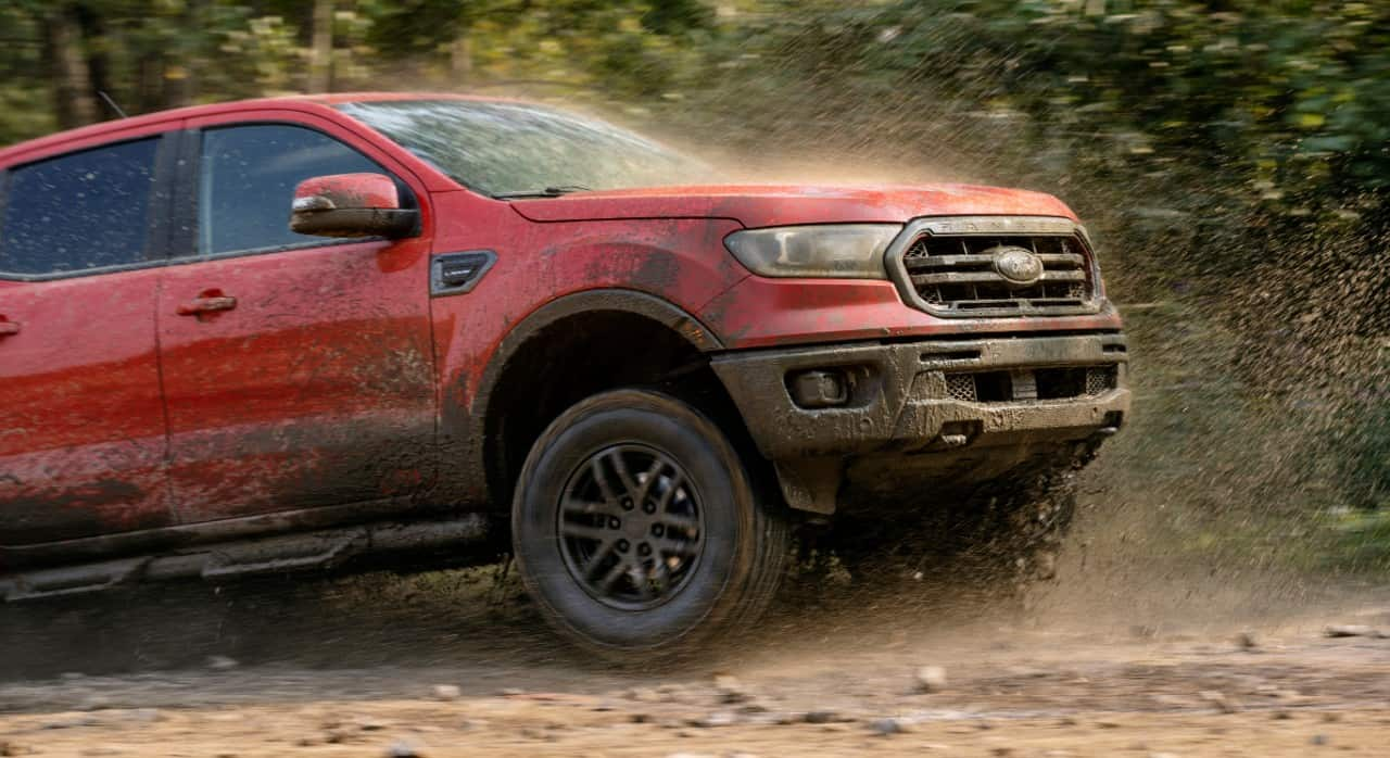 2021 Ford Ranger Tremor in mud