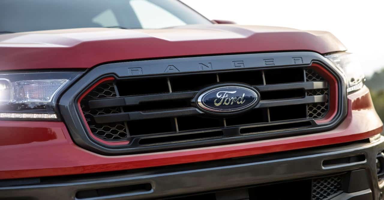 2021 Ford Ranger Tremor grille