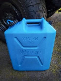 Wavian Overlanding Water Storage container