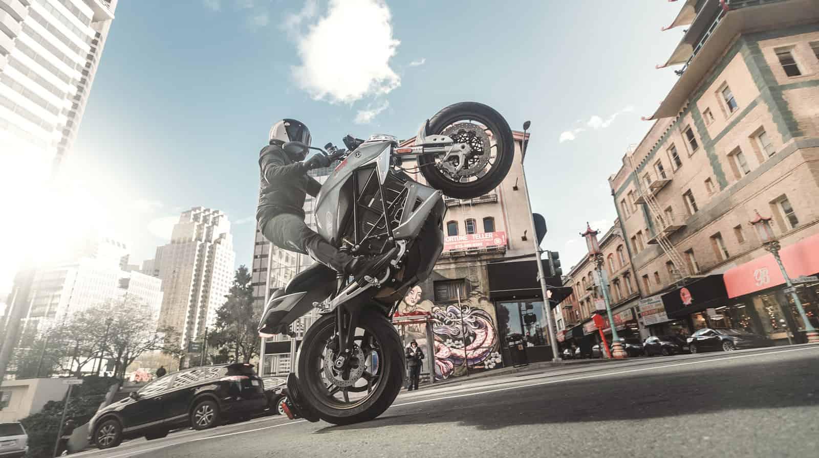 zero motorcycle city