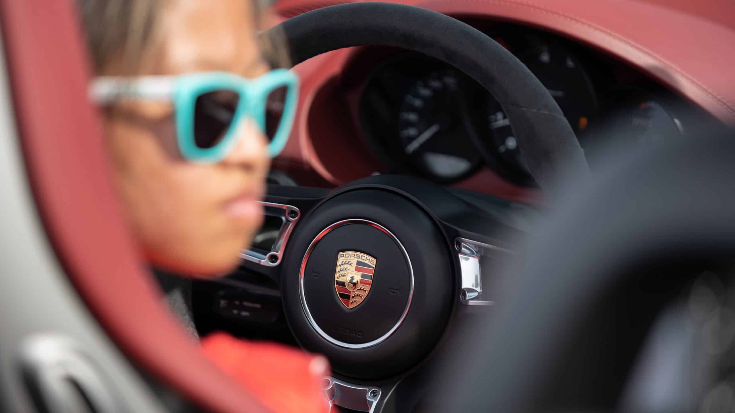 Porsche Guinness World Record Fastest Vehicle Slalom