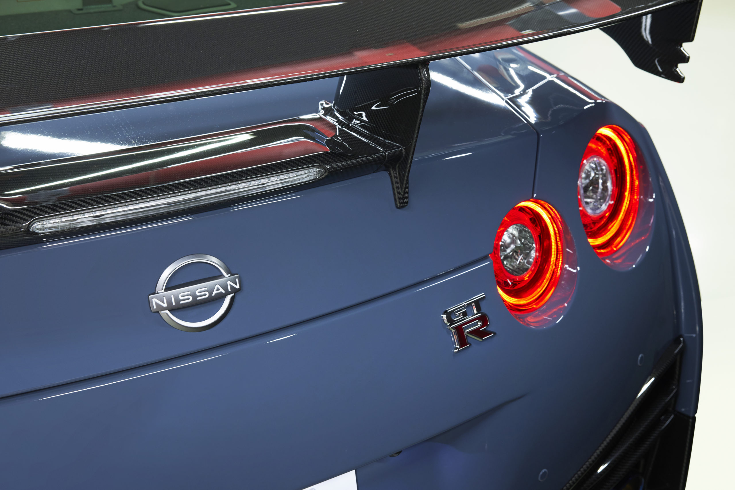 2022 Nissan GT-R NISMO Special Edition rear wing