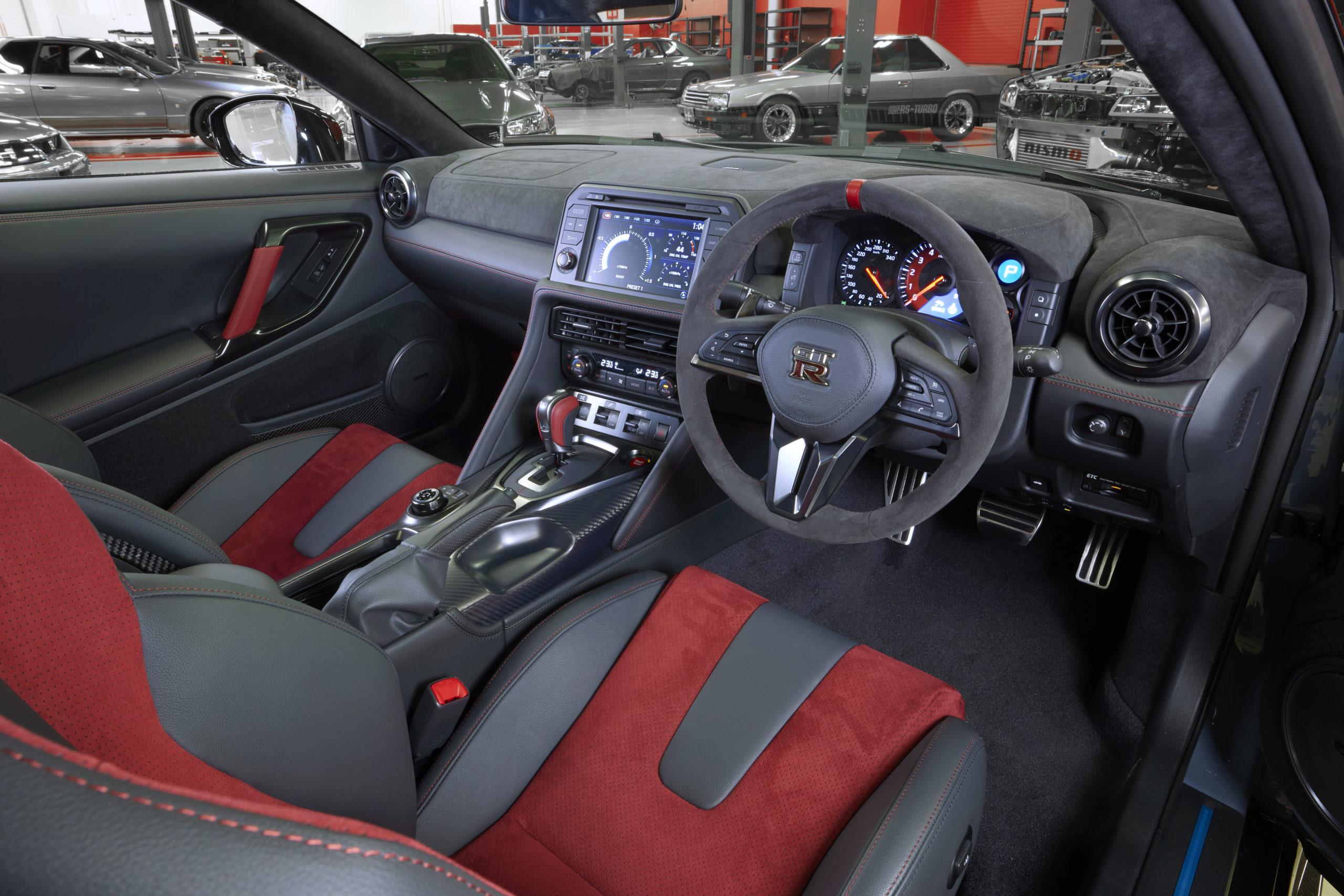 2022 Nissan GT-R NISMO Special Edition interior